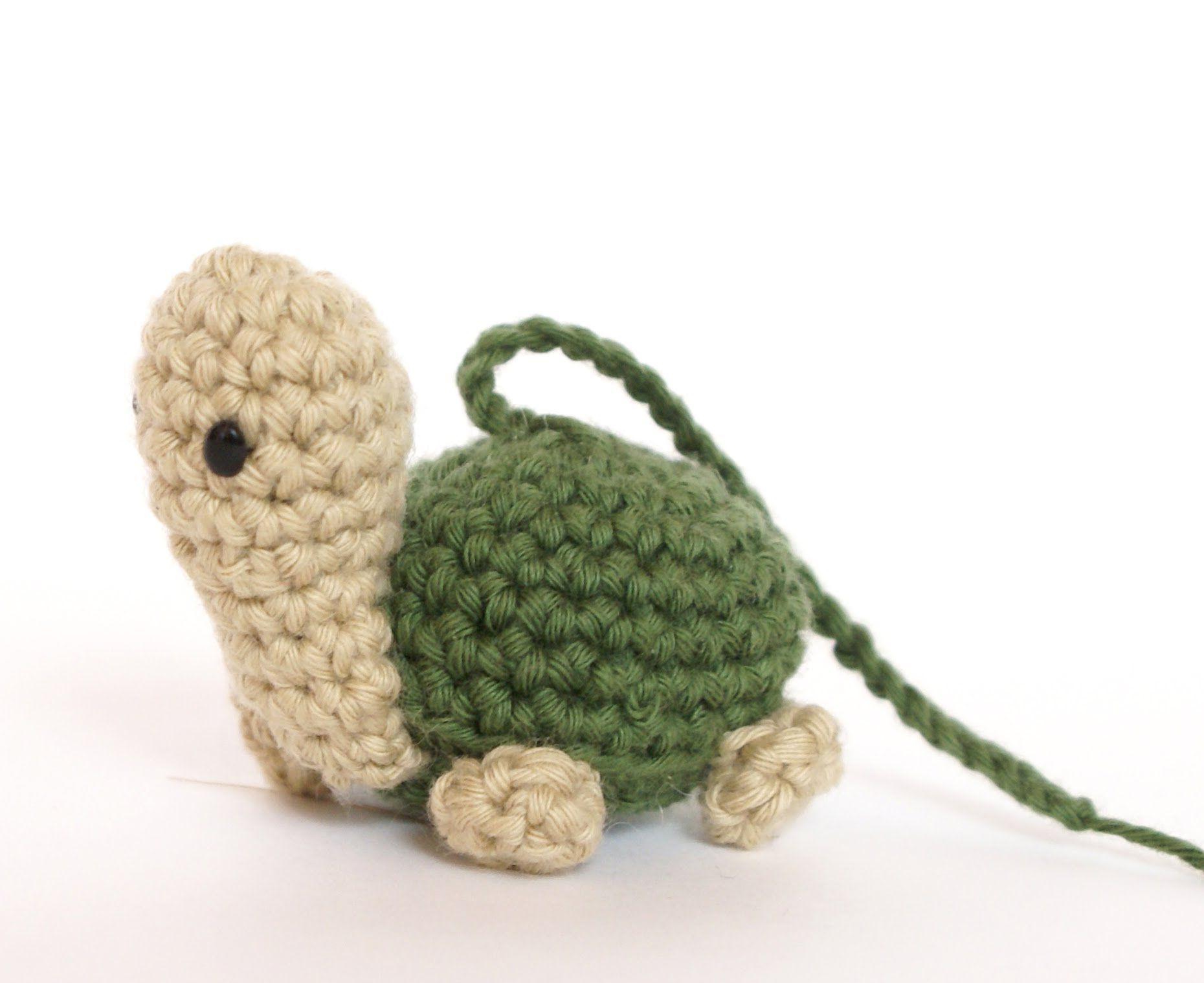 Amigurumi Duck Tutorial : Tutorial mini tortuga amigurumi turtle english subtitles