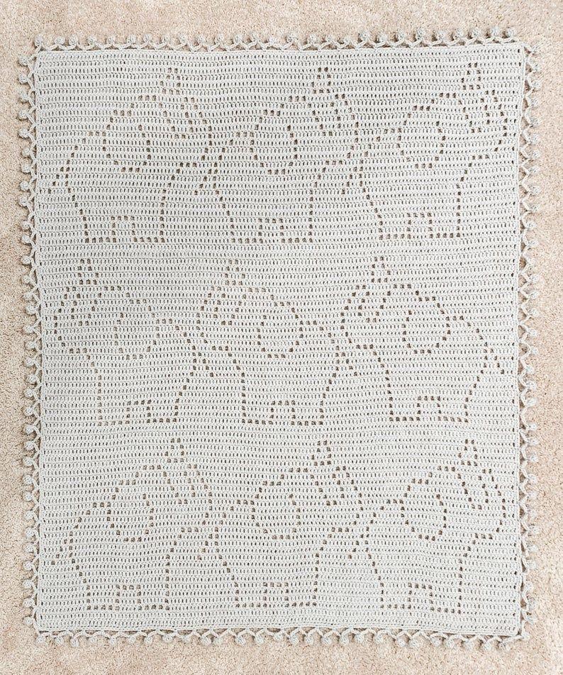 Crochet Elephant Blanket Pattern | Penelope Blanket Pattern