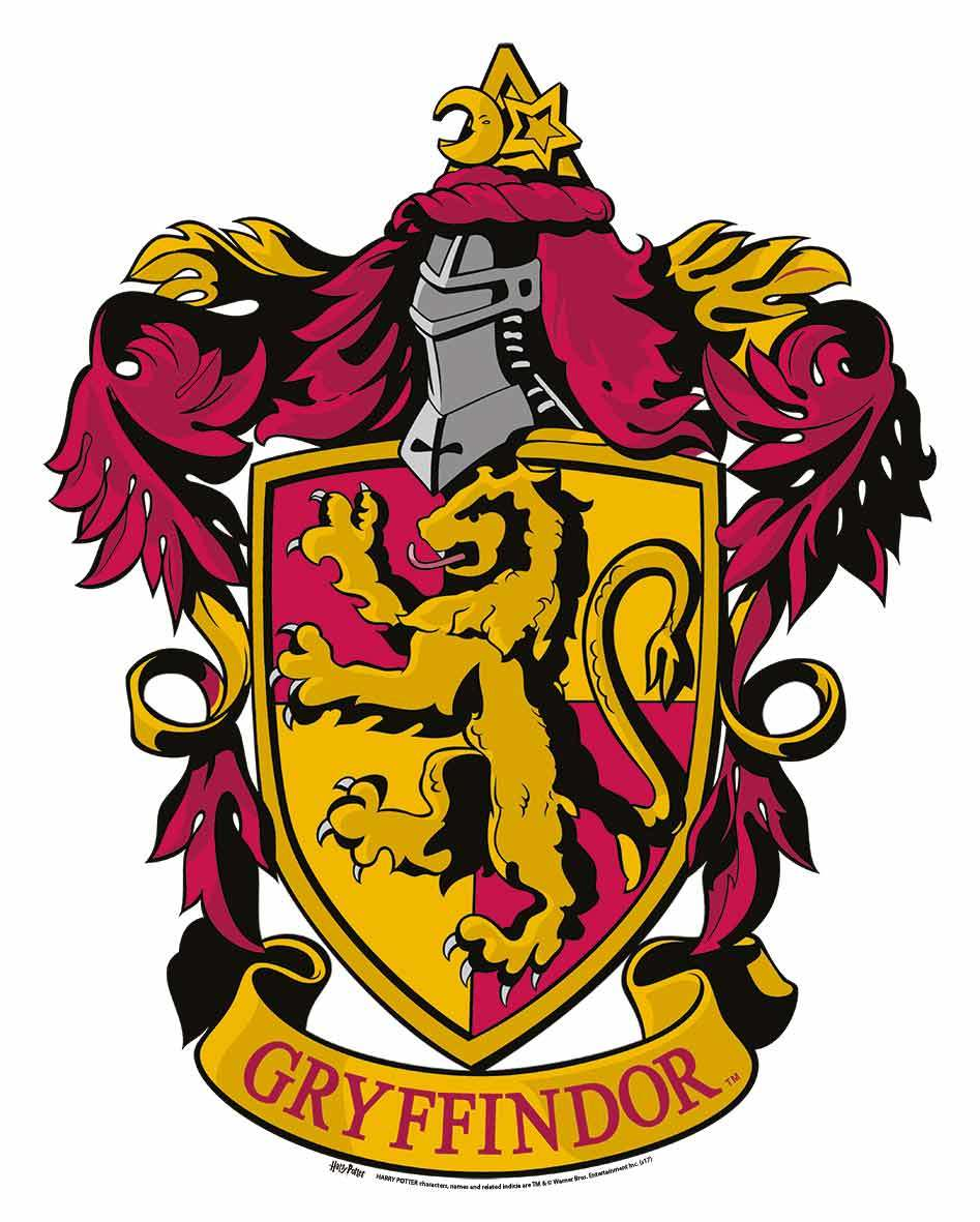 Gryffindor Crest From Harry Potter Wall Mounted Official Cardboard Cutout Harry Potter Stickers Harry Potter Wall Harry Potter Crest