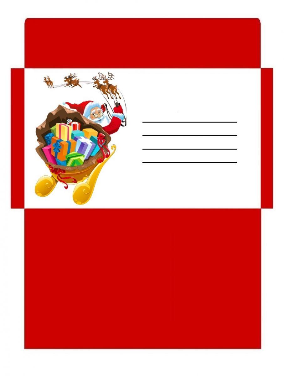 Préférence Enveloppes Noël gratuites à imprimer | DIY - TISK | Pinterest  AQ85