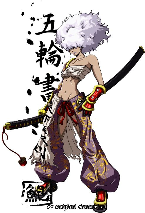 Samurai Anime Characters : This is the list of characters in manga anime