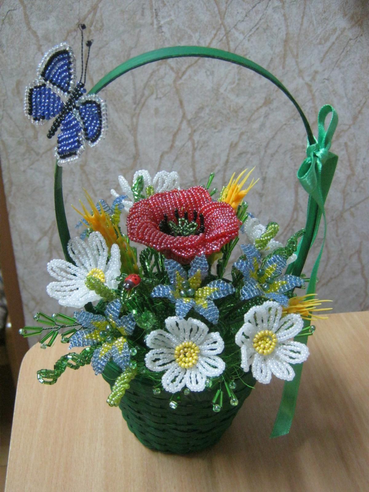 время тренировок цветы в корзине из бисера фото кирилл уже