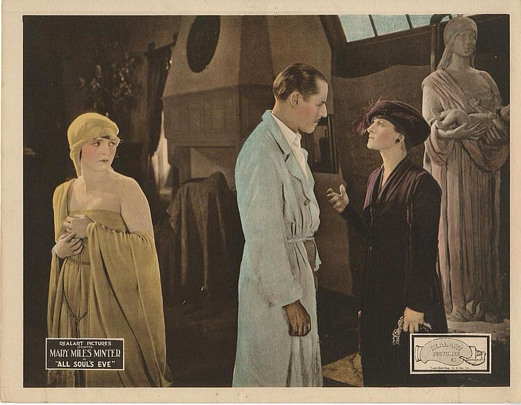 Lobby Card from film All Soul's Eve