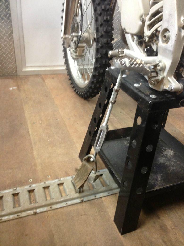 Tiedown 64165 Jpg 780 1040 Motorcycle Trailer Bike Trailer
