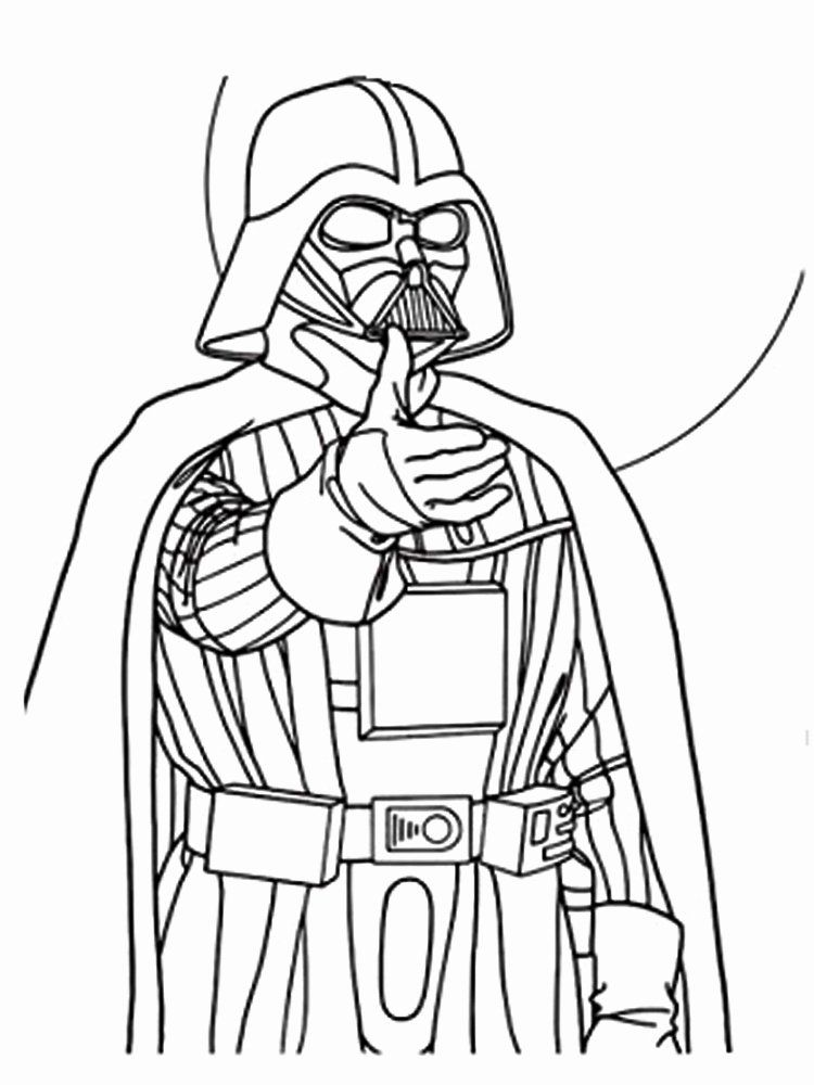 Darth Vader Coloring Page Unique Darth Vader Coloring Pages Free Printable Darth Vader In 2020 Star Wars Colors Star Wars Coloring Book Crayola Coloring Pages