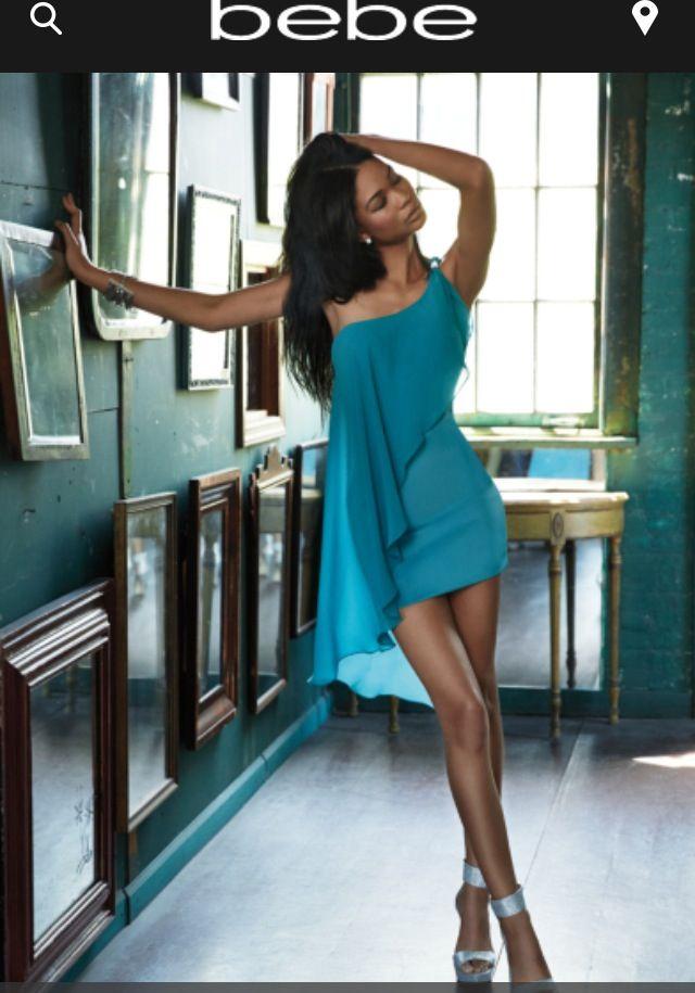 Asymmetrical Overlay Dress $129 from BEBE