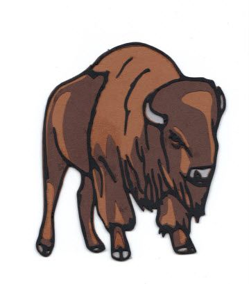 Buffalo Bison Free Svg Fantasy Monster Drawings Art