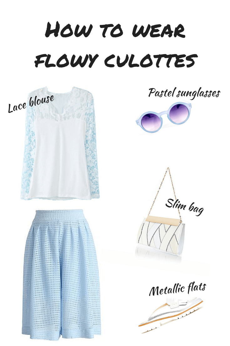 how to wear culottes, a handful of stories