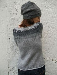 strik- sweater