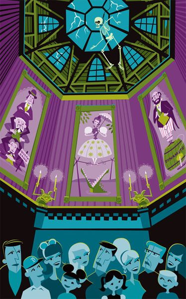 Believe it or not but Haunted Mansion is celebrating it's 40-year anniversary and one of my absolute favorite artists, Shag, has created a series of prints and merchandise to celebrate the ev…