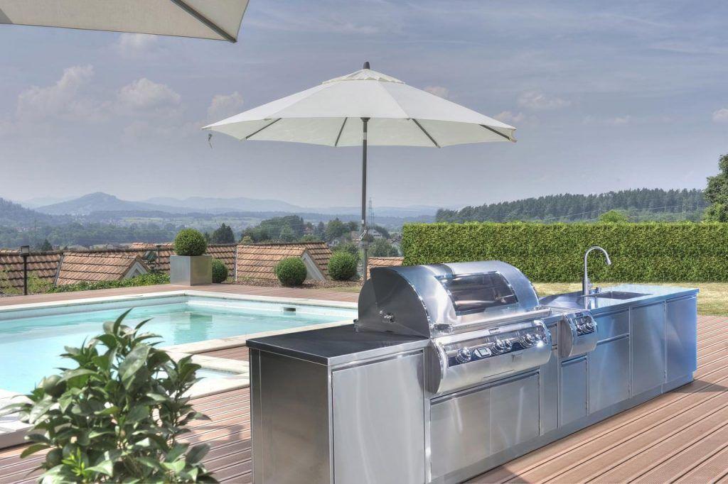 Outdoorküche Edelstahl Designerküche Edelstahl Küchen - outdoor küche edelstahl