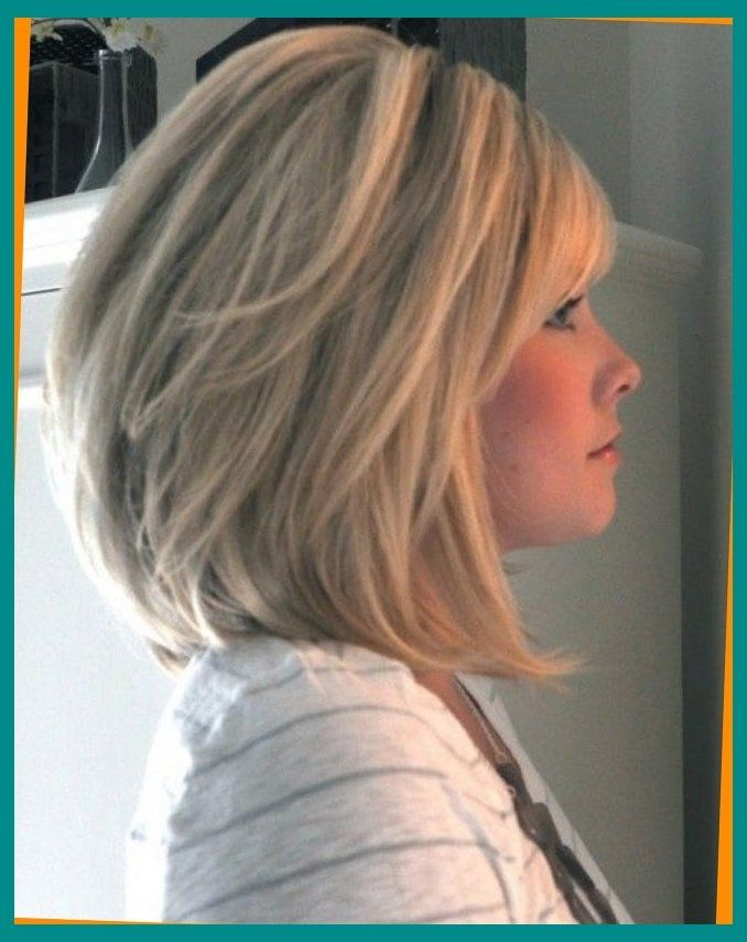 Shoulder Length Bob With Heavy Bangs Hair Colors That Are Fab Regarding Medium Length Graduated Bob The Hair Styles Bob Hairstyles For Thick Hot Hair Styles