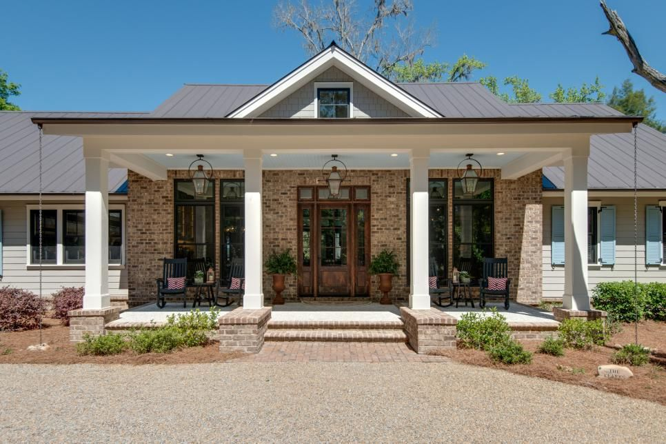 Lighting On Front Porch Lanterns And Recessed Lighting House