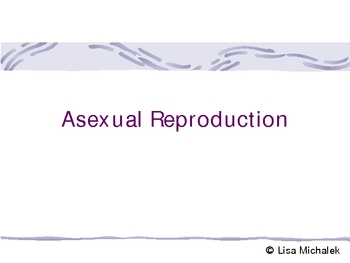 Asexual reproduction budding steps per mile