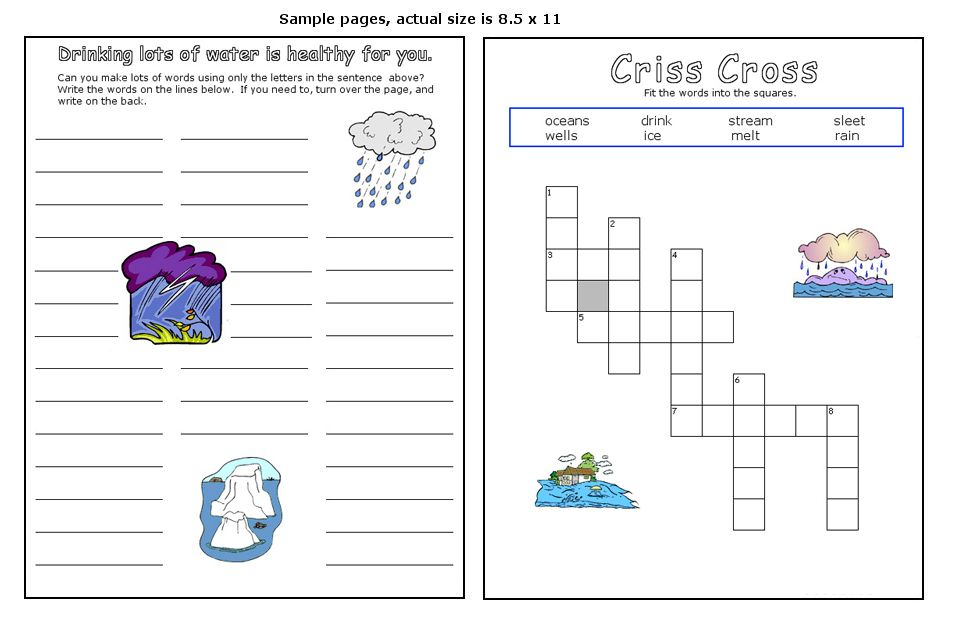 The Water Cycle Education Science Social Studies