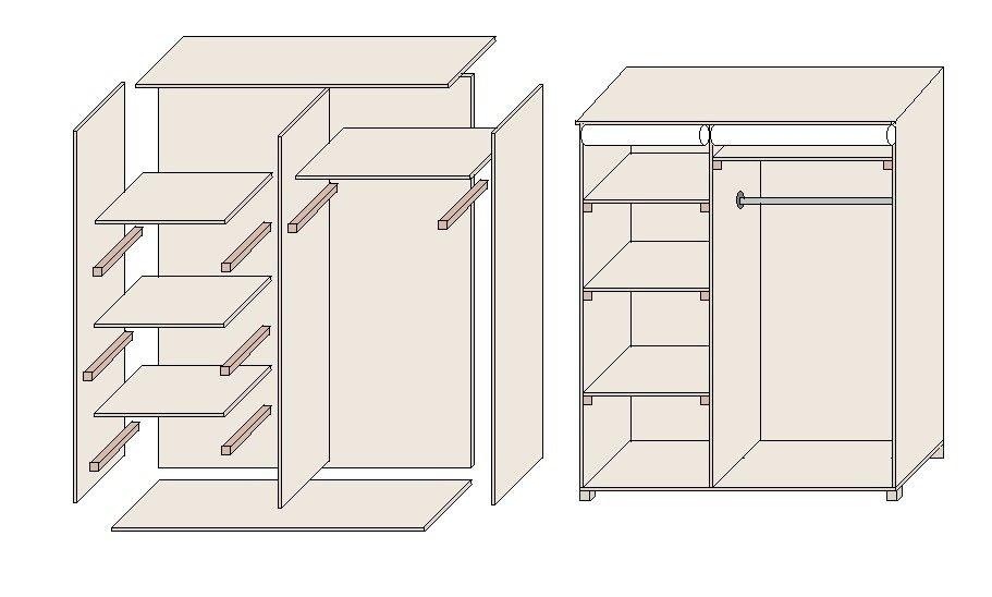 die besten 25 selber bauen einbauschrank ideen auf pinterest. Black Bedroom Furniture Sets. Home Design Ideas