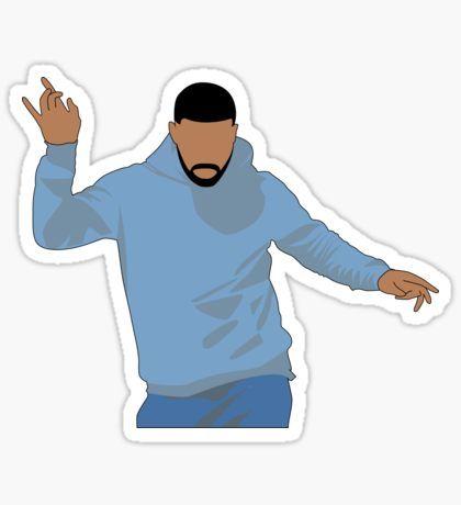 Dancing drake sticker