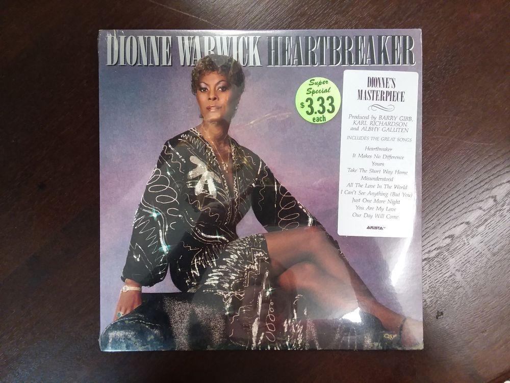 Sealed Dionne Warwick Heartbreaker Vinyl Lp Dionne Warwick Heartbreak Vinyl