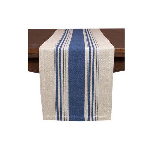 Basics Poplin Table Cloth Striped Table Runner Striped Table Table Runners