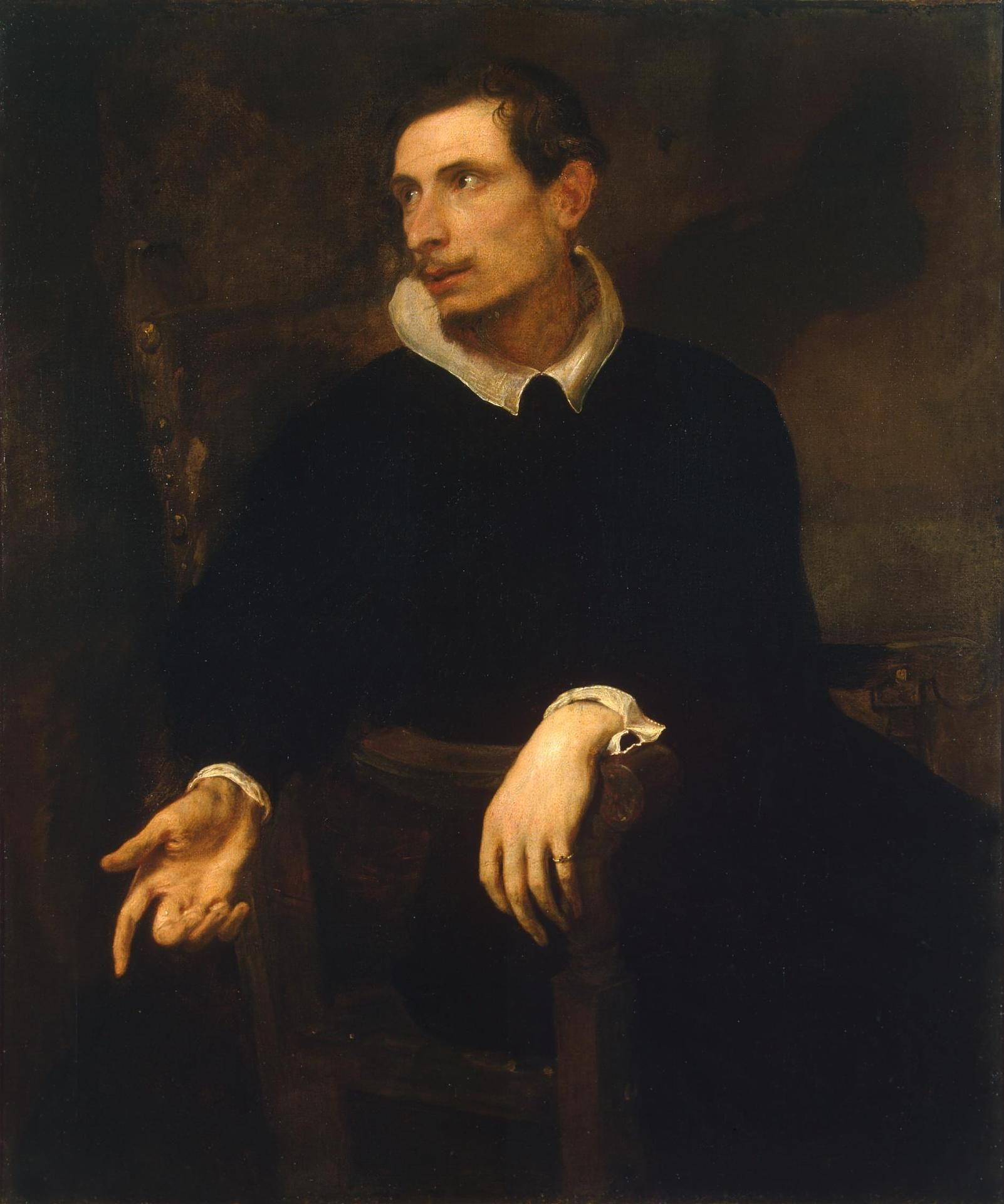 Anthony van Dyck - Portrait of Virginio Cesarini
