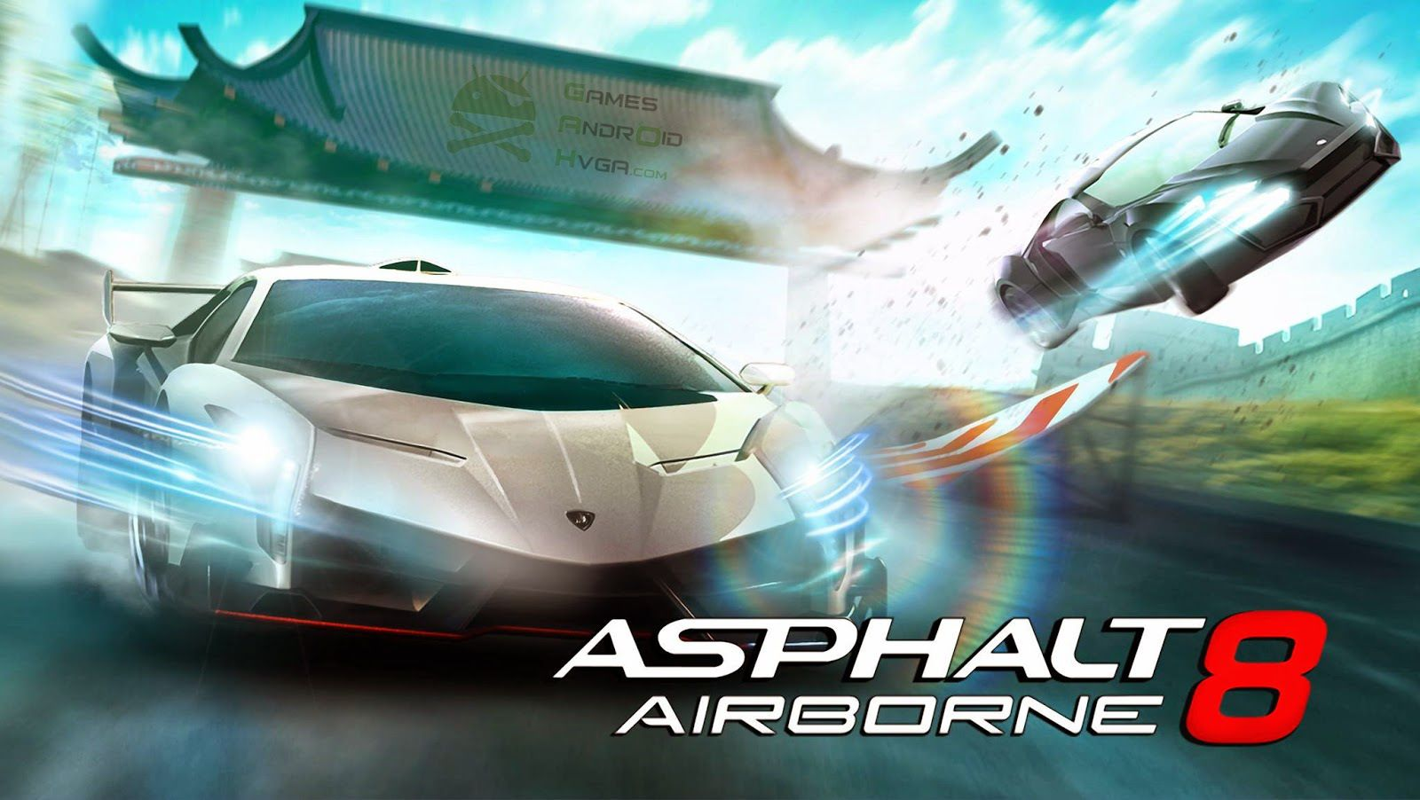 Asphalt 8 Airborne Apk Mod + Data Highly Compressed Full