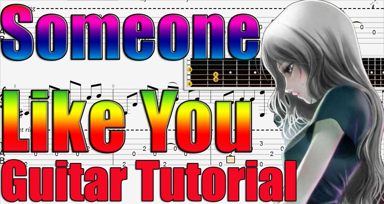 Someone like you adele easy guitar tutorial guitar tutorials someone like you adele easy guitar tutorial baditri Image collections