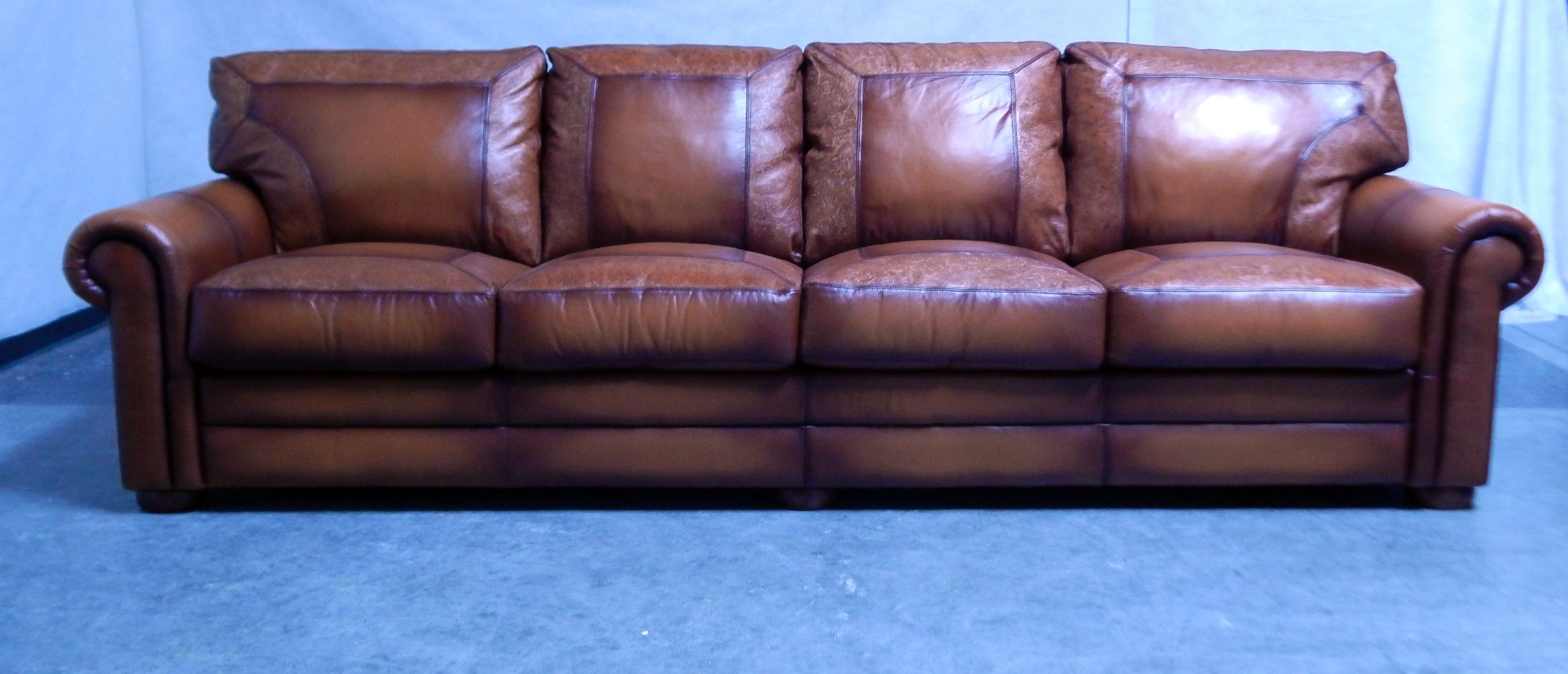 The Chaku Family Will Really Love This Custom Presidential Leather Sofa From Leatherpes