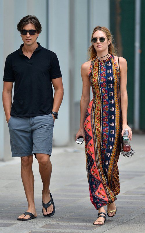 Candice doing the tribal thing. #CandiceSwanepeol in NYC