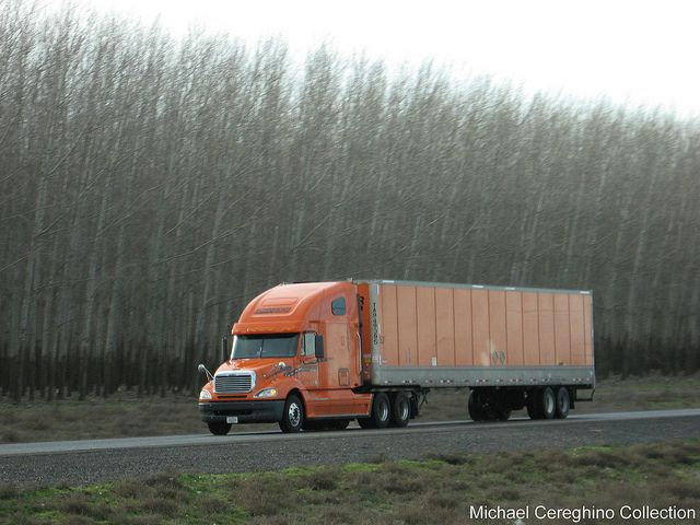 Schneider National Freightliner Columbia(2011 Glider Kit