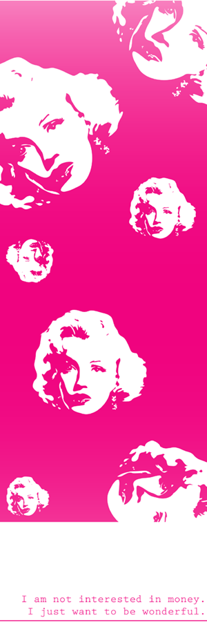 m a r i l y n by ~Anouska on deviantART  [vector drawing] |  This image first pinned to Marilyn Monroe Art board, here: http://pinterest.com/fairbanksgrafix/marilyn-monroe-art/ ||