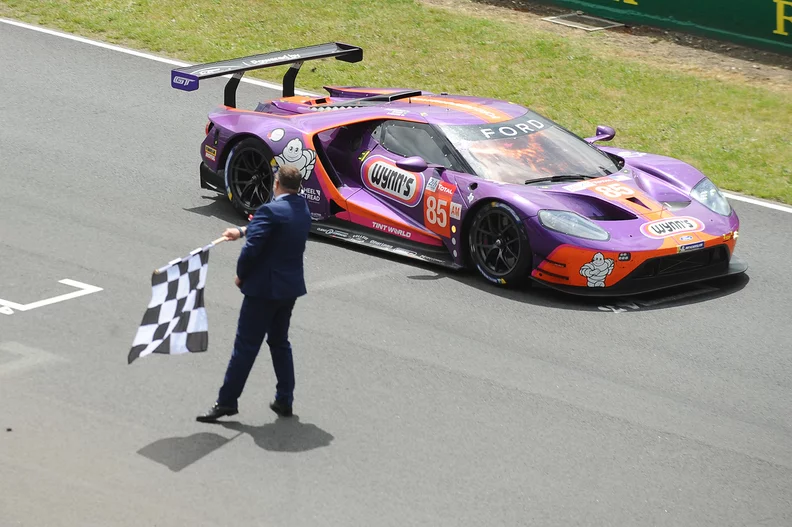 Keating Motorsports Ford Gt Wins Gte Am Class At 24 Hours Of Le