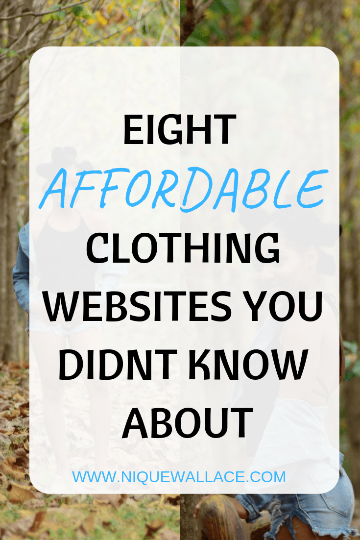 8 Most Affordable Online Clothing Stores Nique S Beauty Affordable Online Clothing Stores Affordable Clothes Online Clothing Stores