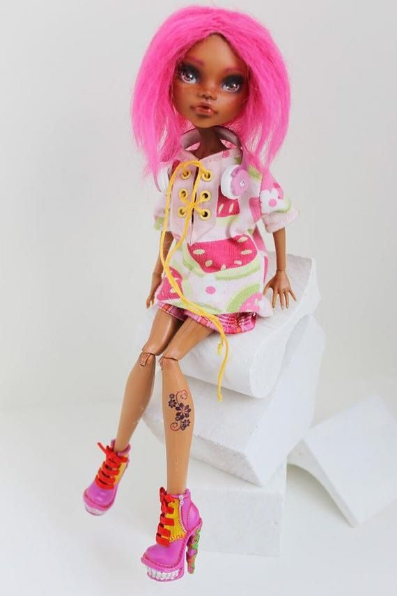 OOAK Monster High Repaint Clawdeen #ooakmonsterhigh