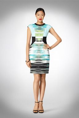 Now this is interesting. Juxtaposes my 2 fav aesthetics (Tribal+Mod) | @MaggyLondon - $128 | Just In dresses and styles