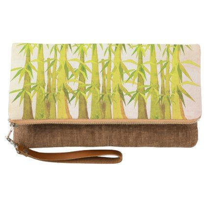 Bamboo art clutch - luxury gifts unique special diy cyo
