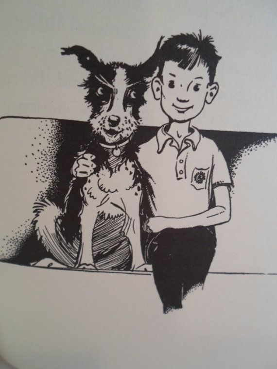 Love The Old Henry And Ribsy Illustrations Vintage