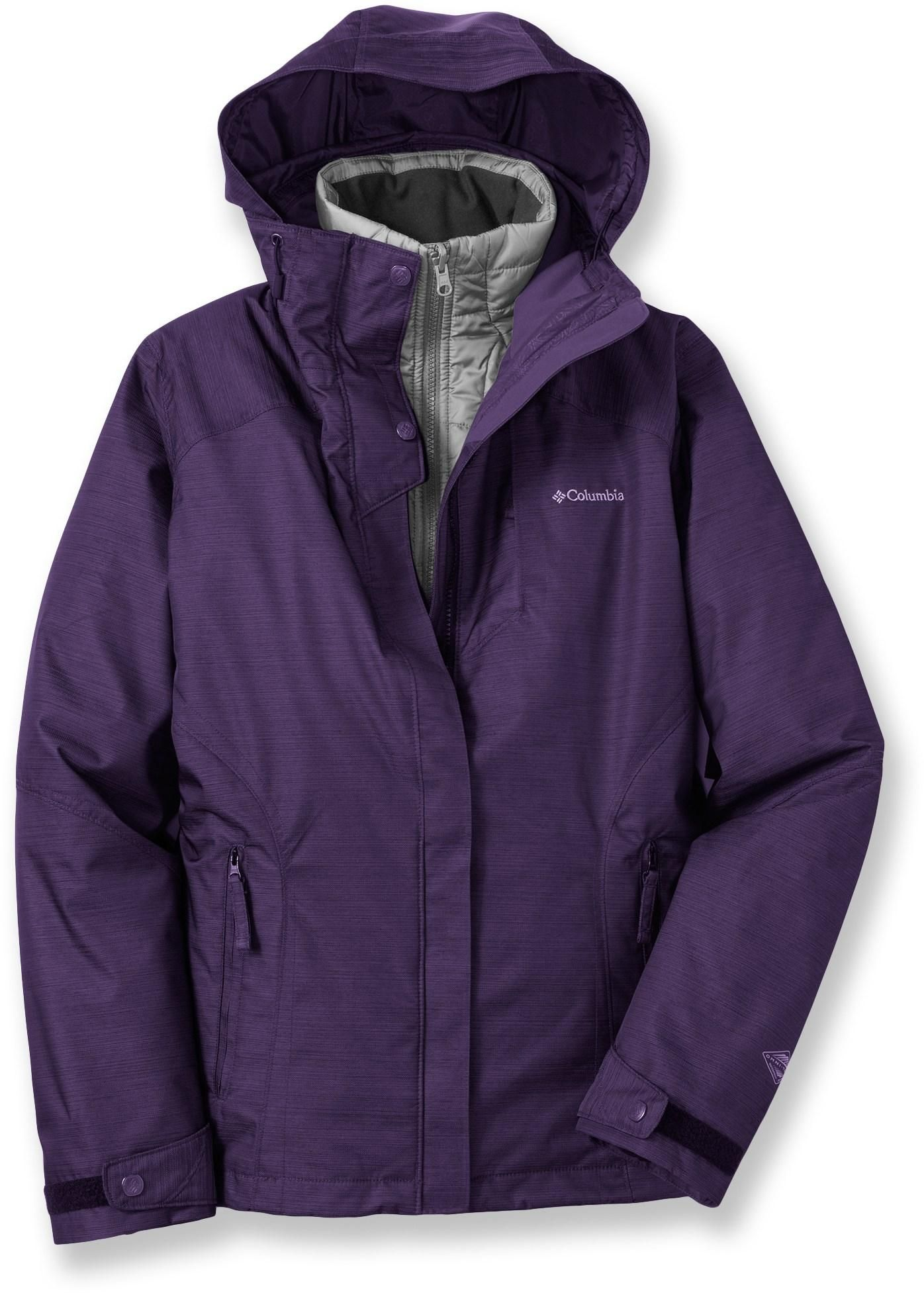 Columbia Alpine Alliance Interchange 3 In 1 Insulated Jacket Women S Rei Co Op Jackets For Women Jackets Outdoor Workout Outfit
