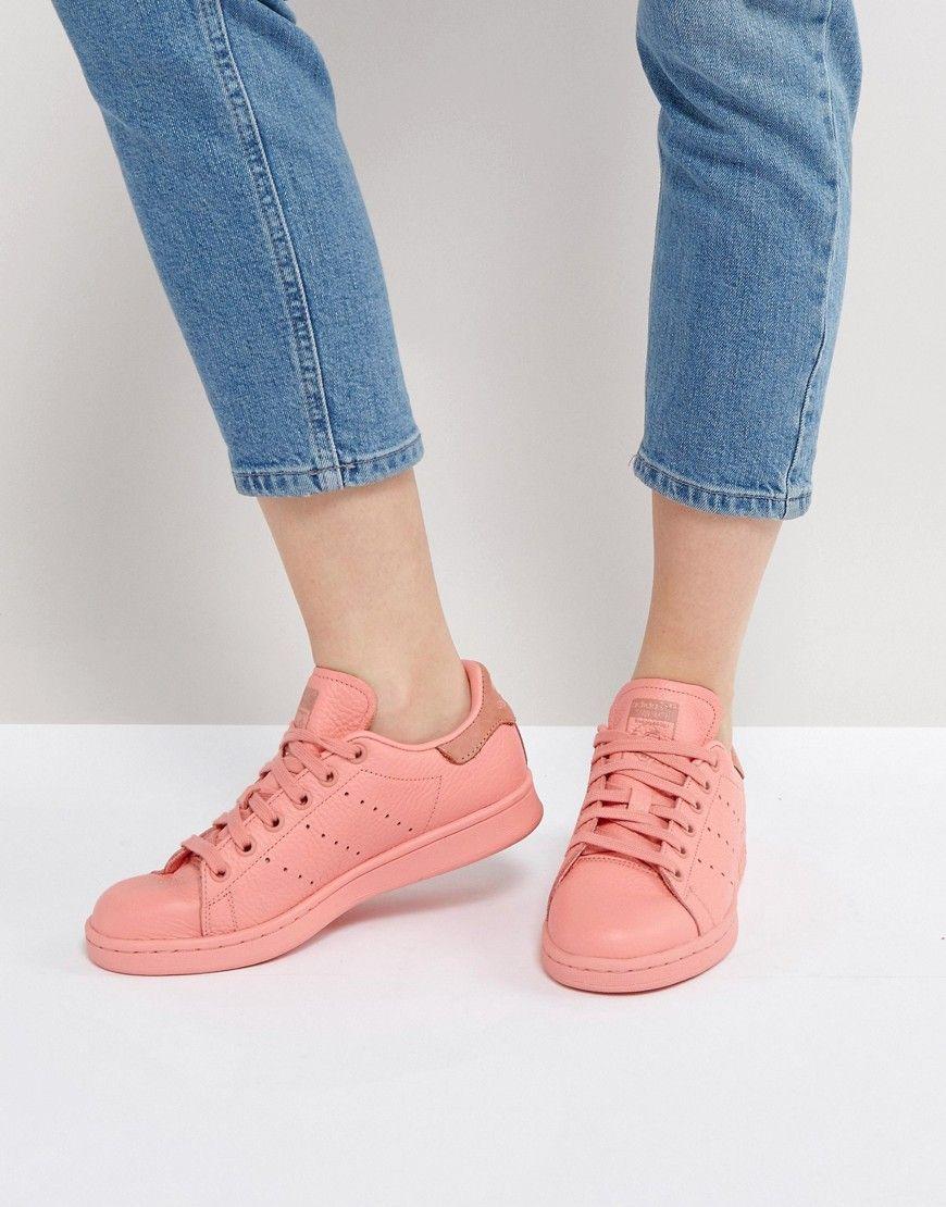 huge selection of 076dc f8c25 ADIDAS ORIGINALS ADIDAS ORIGINALS CORAL STAN SMITH SNEAKERS - ORANGE.   adidasoriginals  shoes