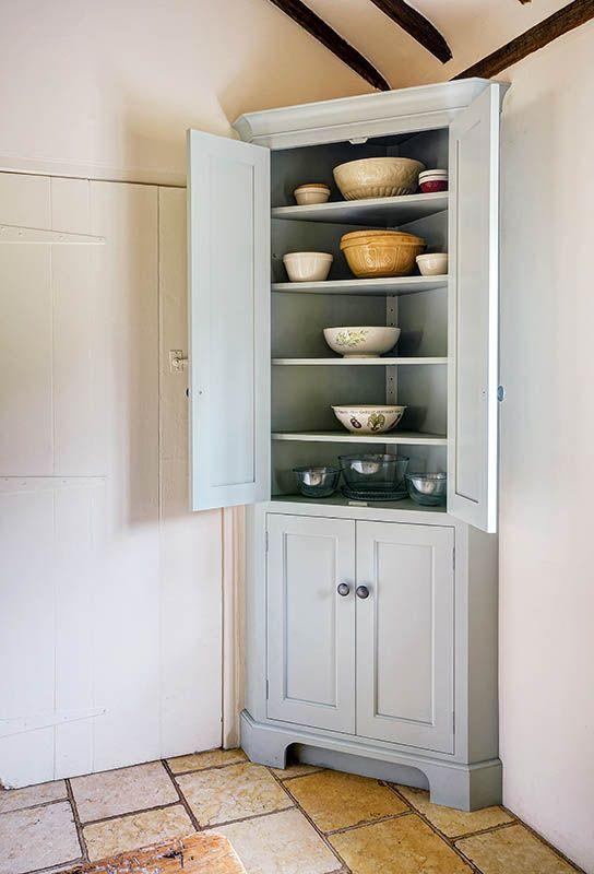The Grange Kitchen Corner Cupboard Our Handmade Kitchens In 2019