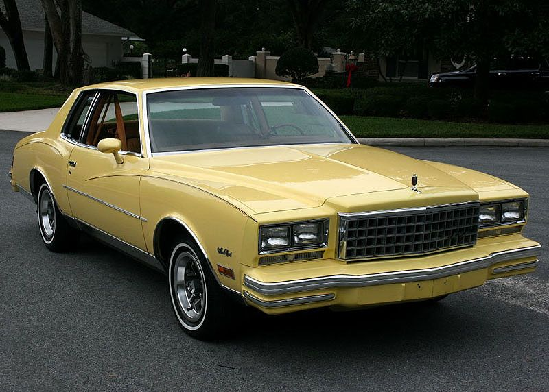 1980 Chevrolet Monte Carlo With Images Chevrolet Monte Carlo