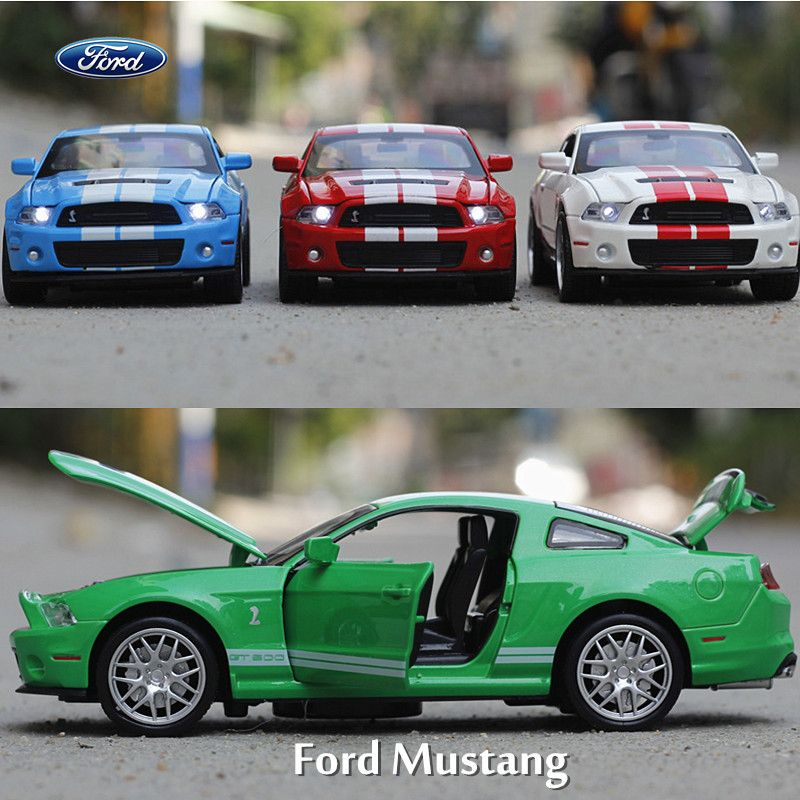 132 alloy toy car models ford mustang gt coupe kids baby toys hot