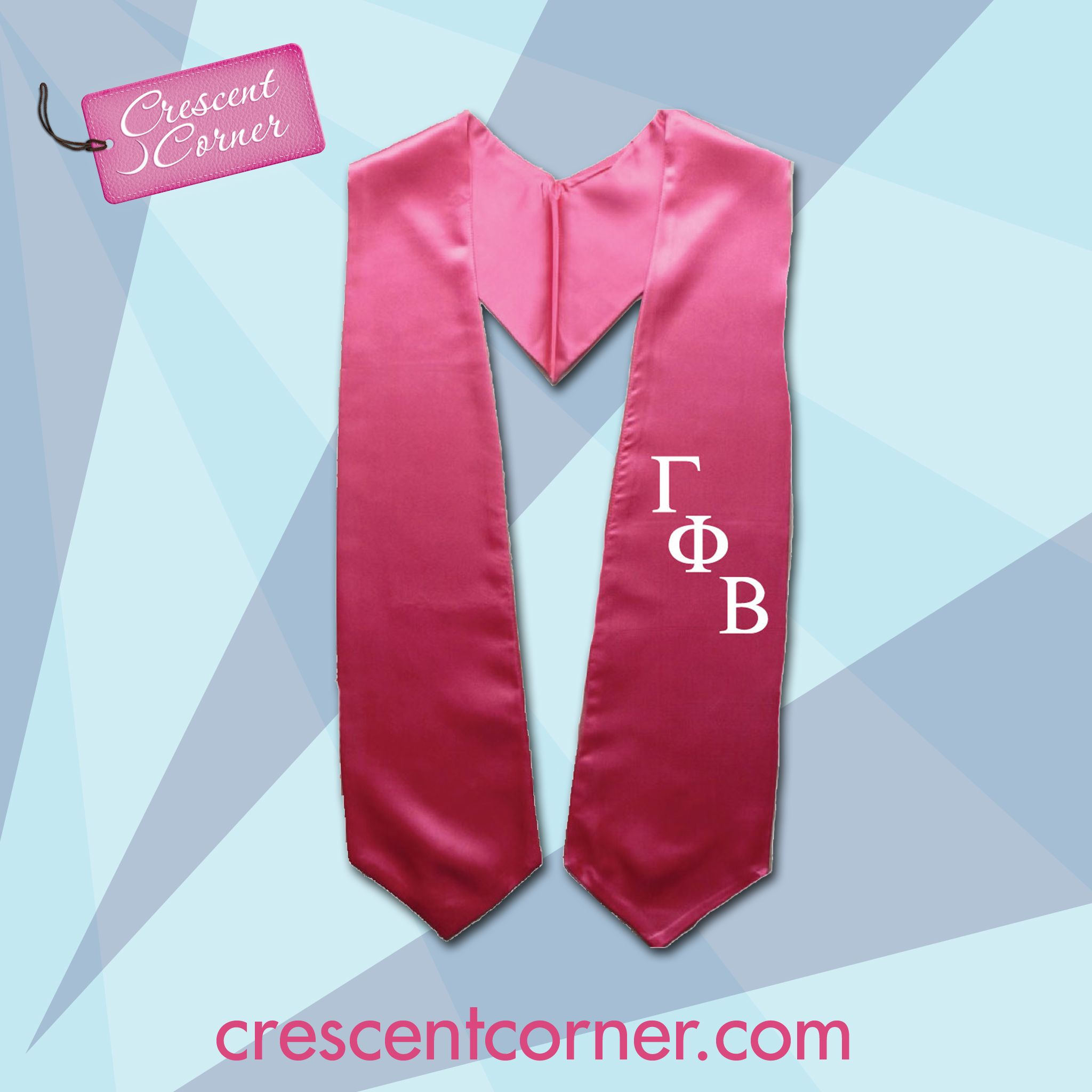 Graduating This Spring Make Sure To Order Your Graduation Stole From Crescent Corner Today Gammaphibeta Www Cresc With Images Gamma Phi Beta Graduation Stole Gamma Phi