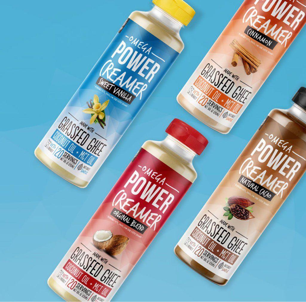 PowerCreamer Keto Coffee Made Easy Keto coffee creamer
