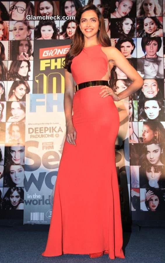 Deepika Padukone in Stella McCartney Dress at FHM Magazine ...
