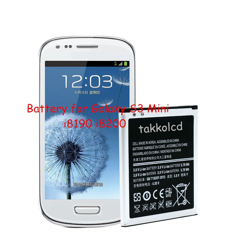 For Galaxy S3 Mini I8190 I8200 Battery Samsung Watches Galaxy S3 Samsung Phone