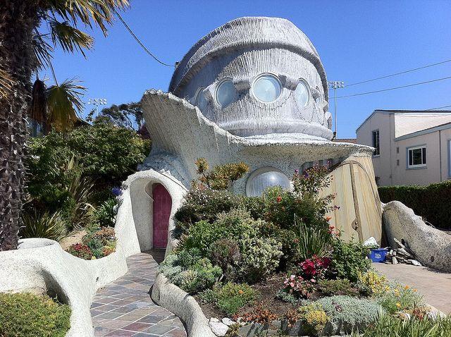 Eugene Tsui tardigrade house, Berkeley, CA | Organic ...