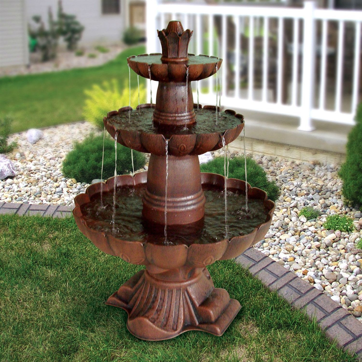 Simple Water Features For The Garden: Give Your Yard A Professionally Landscaped Look With This
