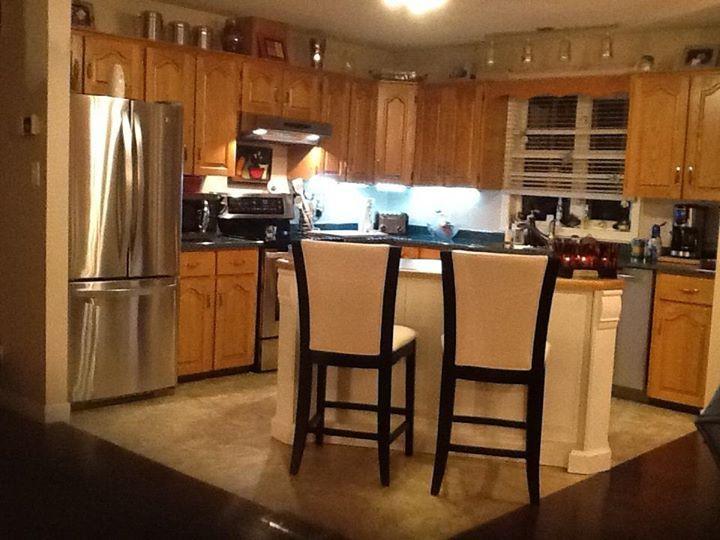 j ai enlev un mur entre la cuisine le salon et la salle. Black Bedroom Furniture Sets. Home Design Ideas