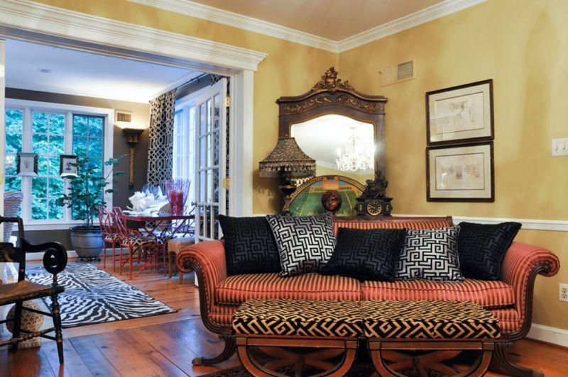 The Fusion Style In Interior Living Room Designs Interior Interior Design