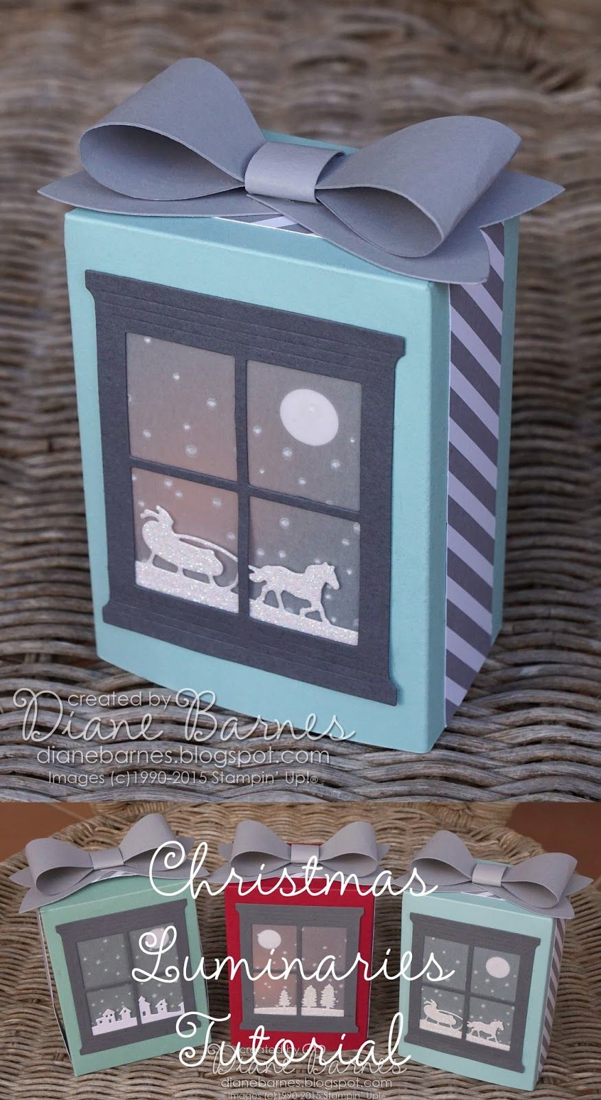 Christmas luminaries project & tutorial-instructions made with ...
